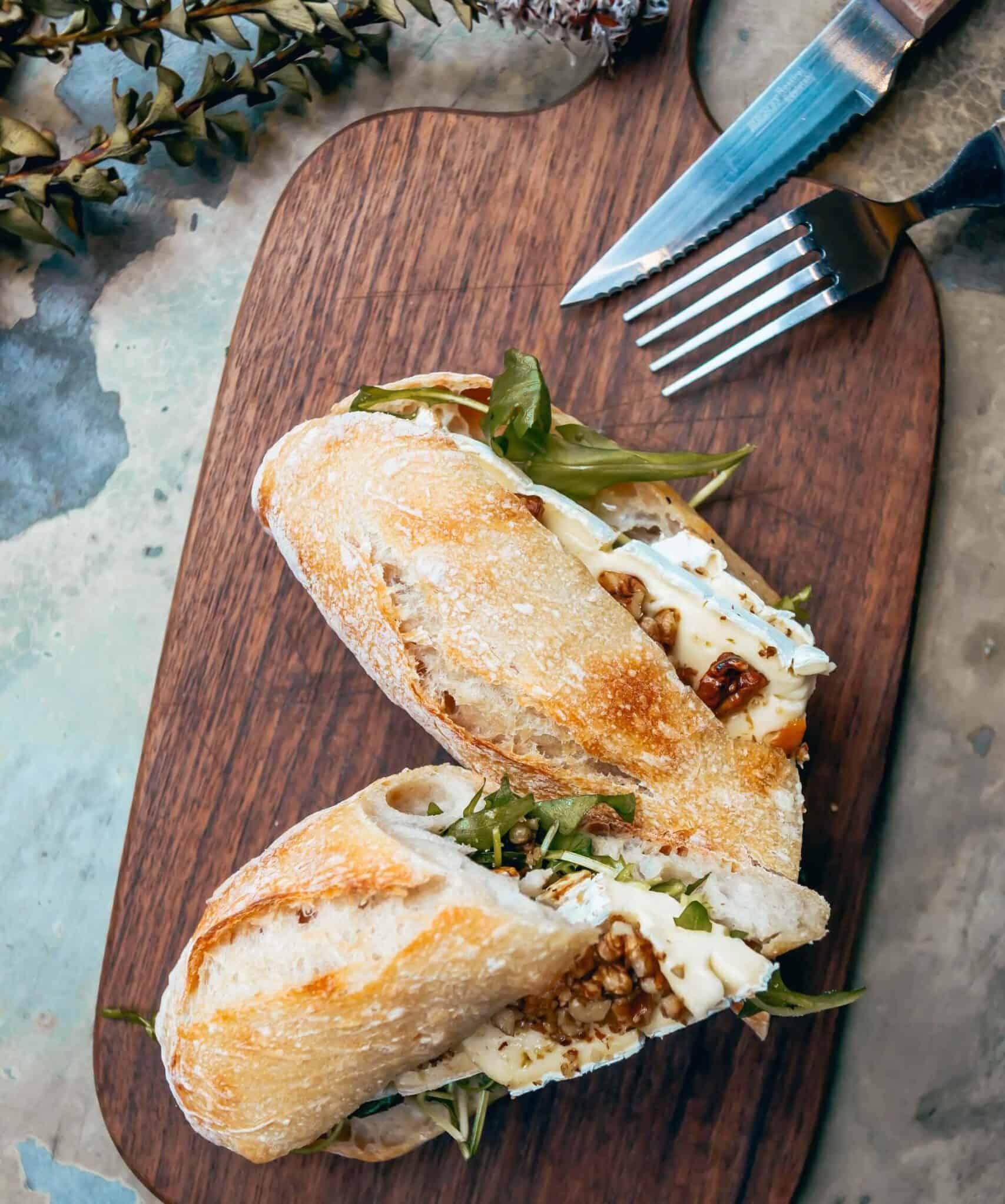 menukaart, heerlijke koffie en smoothies met een verse lunch en warme broodje